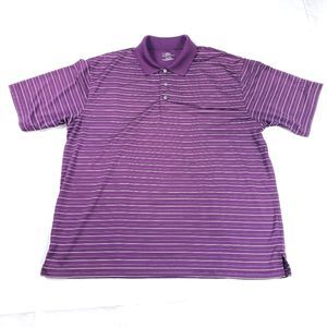 PGA Tour Golf Polo Short Sleeve Shirt Size XL